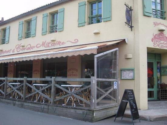 Le croque mitaine : L'extérieur du restaurant