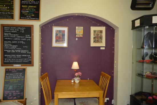 Balmacara, UK: Tables