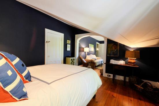Skaneateles, Нью-Йорк: Stag Horn Suite bedroom