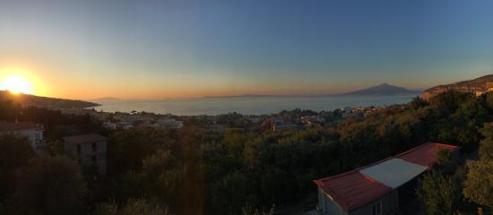 Sunset from the top of Villa Oriana