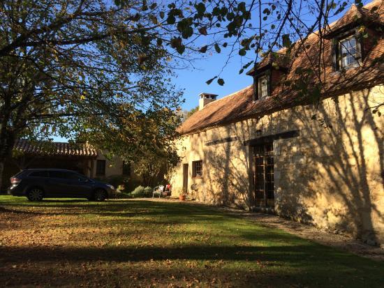 Campsegret, فرنسا: huisje van oost zijde