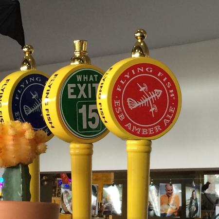 Flying Fish Brewery: Tap Handles