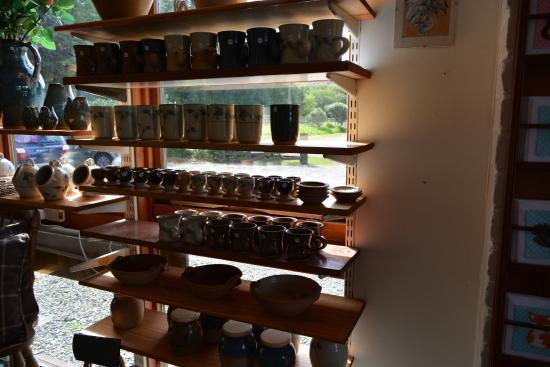 Barcaldine, UK: pottery