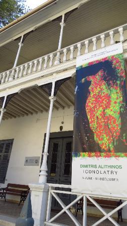 Pierides Museum - Bank of Cyprus Cultural Foundation: visao da rua