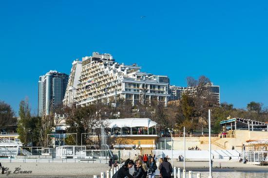 "Arcadia district: View ""Arkadievsky"" Palace"