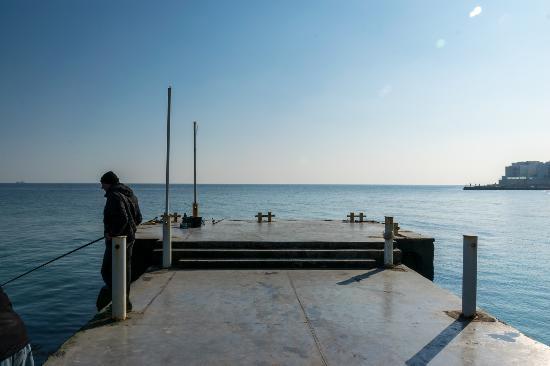 "Arcadia district: Pier on the beach ""Arcadia"""