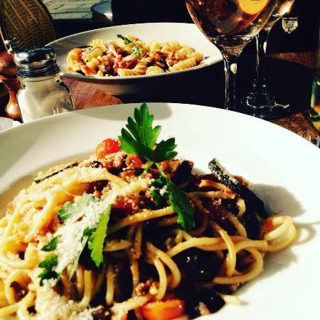 Le Bucheron : pasta's