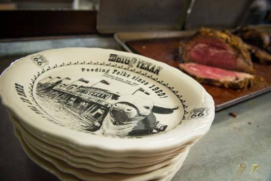 The Big Texan Plates