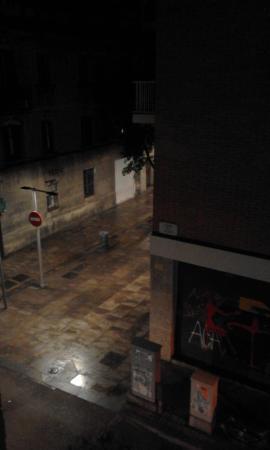 Hostal Barcelona : Desde mi ventana...