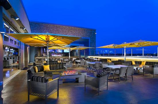 Rooftop Terrace And Bar Picture Of Topgolf Naperville