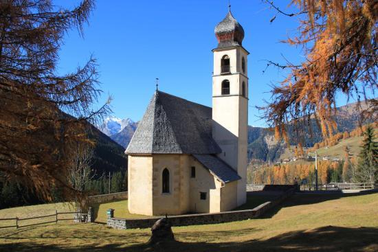 Selva di Cadore, Italie : Chiesa di S. Fosca a PESCUL