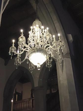 Waterford chandelier picture of adare manor adare tripadvisor adare manor waterford chandelier aloadofball Gallery