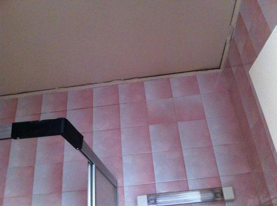 Le Terrage: il soffitto del bagno sembrava rischiasse il crollo
