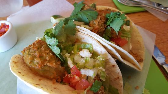 Wausau, WI: Killer Fish Tacos with fried Avocados