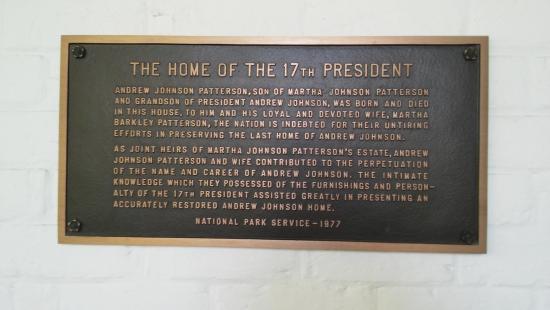 Andrew Johnson National Historic Site Foto