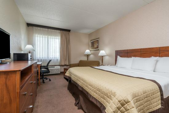 Ramada Fargo: Standard King Room with Single Sofa Sleeper