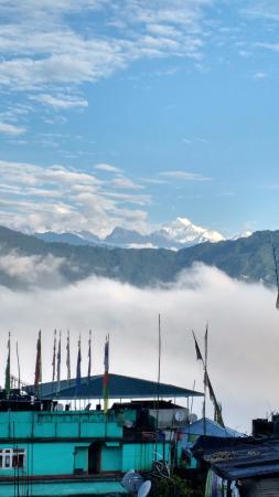 Bamboo Grove Retreat: view of kanchenjunga devi