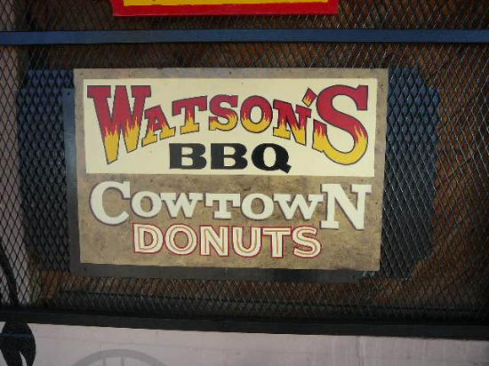 Watson's BBQ famous Cowtown Donuts