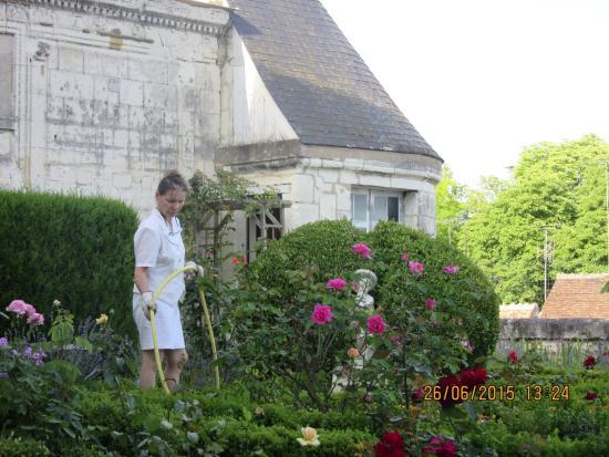 La Maison de l'Argentier du Roy : Lovely flower garden