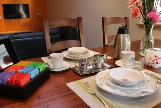 Surrey, Canadá: Breakfast Table