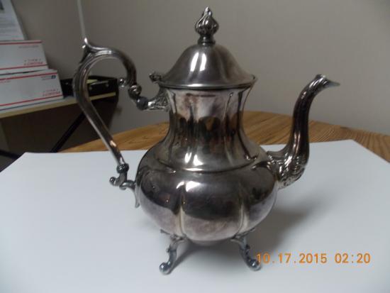 Wagon Wheel Antiques 1940s Sherdian Coffee Pot