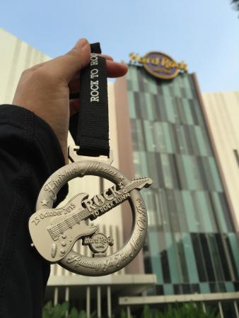 Hard Rock Hotel Penang : sexay medal