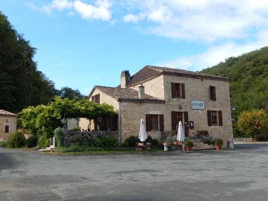 Le Cafe de Gavaudun : fachada