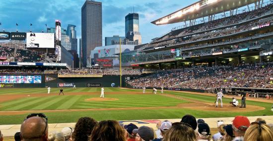Legends Club Level, Target Field, Minneapolis, MN ...