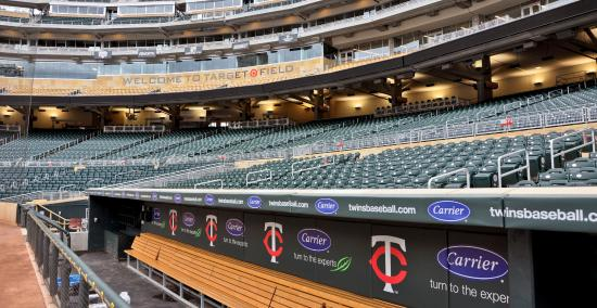 View from Suite, Target Field, Minneapolis, MN - Picture ...