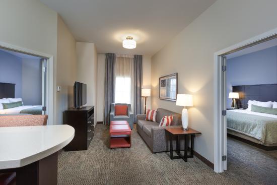 Staybridge Suites Houston I 10 West Beltway 8  2 Bedroom  2 Bathroom. 1 Bedroom Suite   1 King Bed or 2 Queen Beds   Picture of