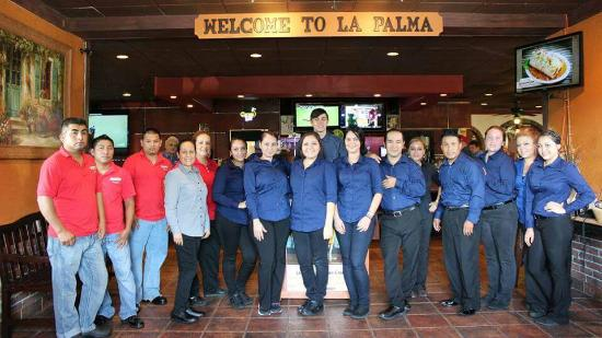 La Palma Mexican Grill: My Awesome Staff