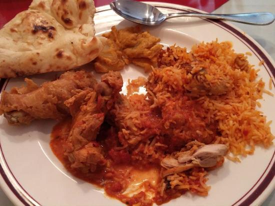 Msala India Restaurant: Buffet plate