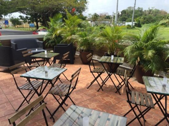 Parrilleria Vacas Gauchas: Outside seating area