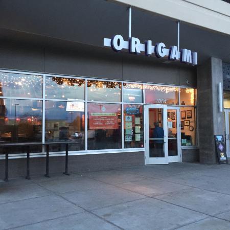 The Entrance Picture Of Origami Uptown Minneapolis Tripadvisor