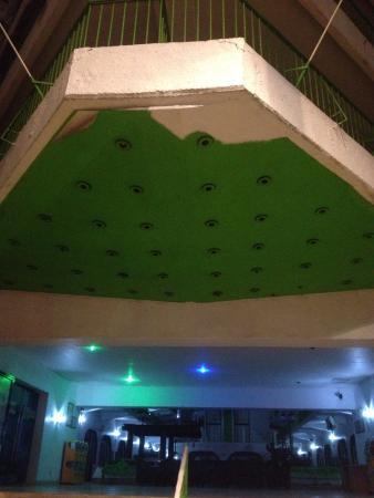 Hotel Tortuga Acapulco: entrada sin iluminacion