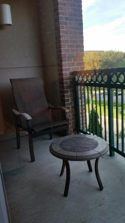 Courtyard Franklin Cool Springs: Standard Double Room with Balcony
