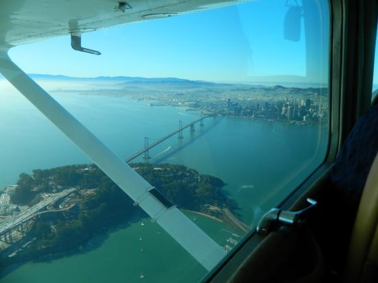 Hayward Flight: San francisco from the sky!!