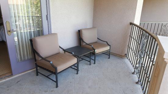 The Langham Huntington, Pasadena, Los Angeles: Large Balcony/patio