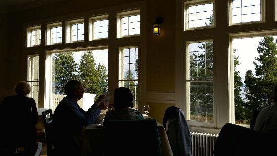 Lake Yellowstone Hotel Dining Room: View From Our Table In Dining Room
