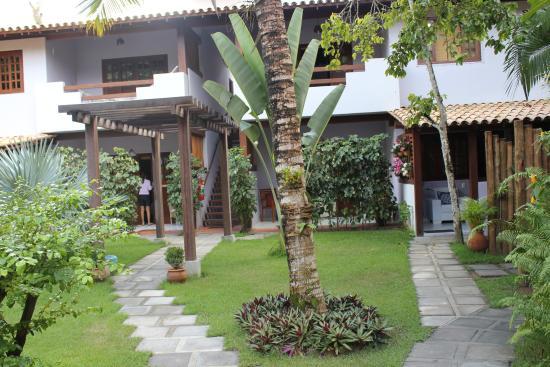 Pousada Quarto Crescente: area externa suites masters