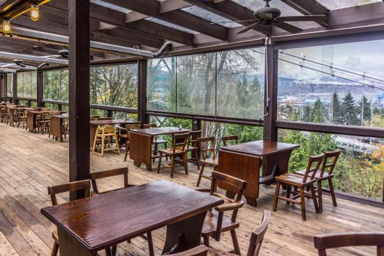 Prospect Point Restaurant : interior and view