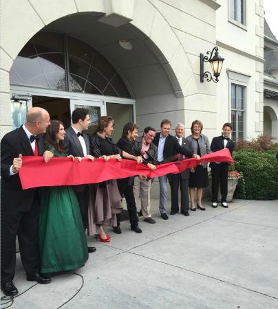 The Grand Re-Opening of our theater featuring the cast/crew of ...