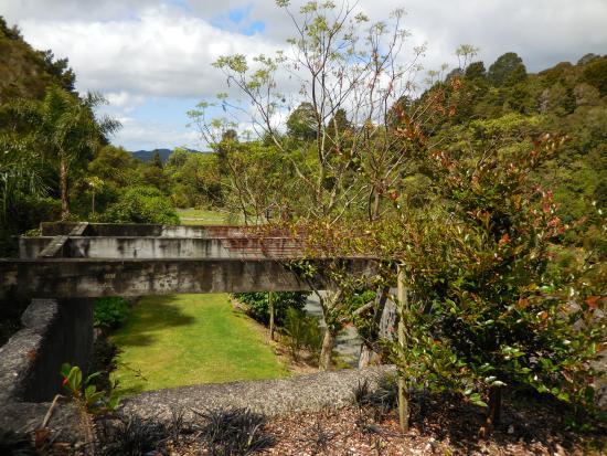 Whangarei, Nueva Zelanda: Looking across the gardens