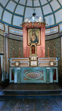 Old Mission State Park: The Alter, within the Cataldo Mission...precious, designed by the Jesuit Priest