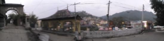 Himachal Darshan Photo Gallery: panorama view of the market next to our hotel
