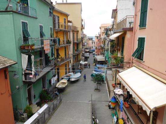Ca' de Baran: View from balcony