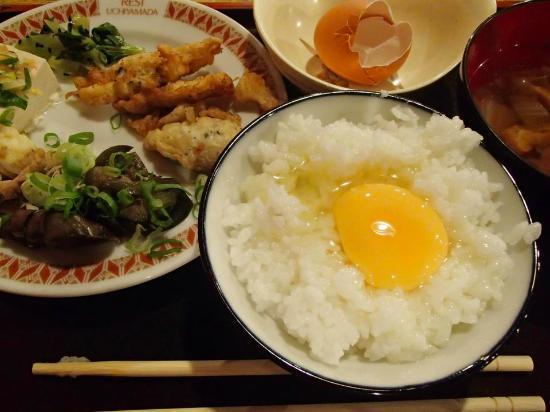 Hotel Uchiyamada: 朝食バイキング