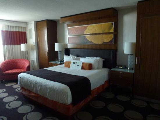 The Mirage Hotel & Casino: Bedroom