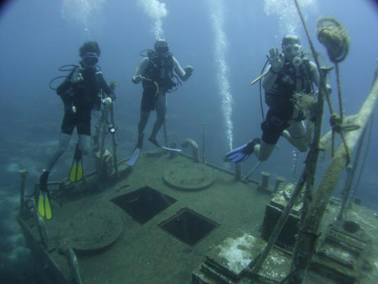 Turihan Hotel: Wreck diving off Bodrum with Motif Diving