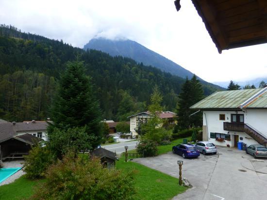 Mayringerlehen: View from balcony